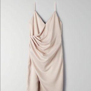 Aritzia ten by Babaton spades dress in nude